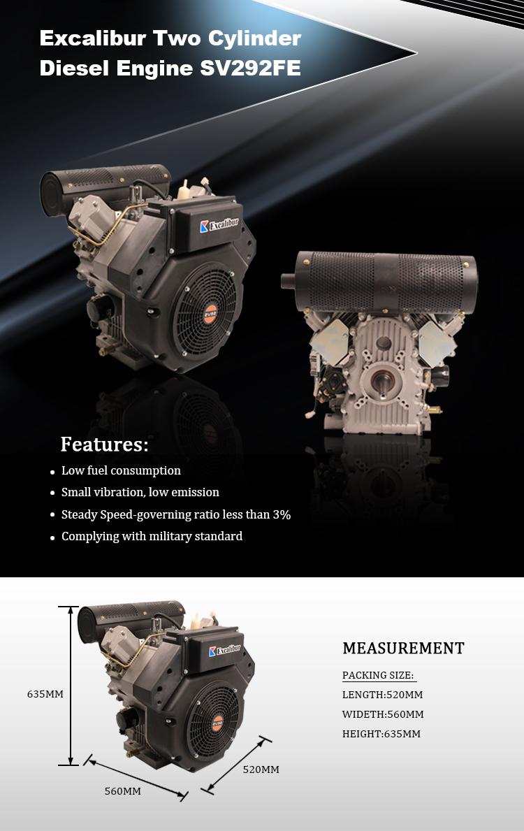22HP diesel engine  (2)