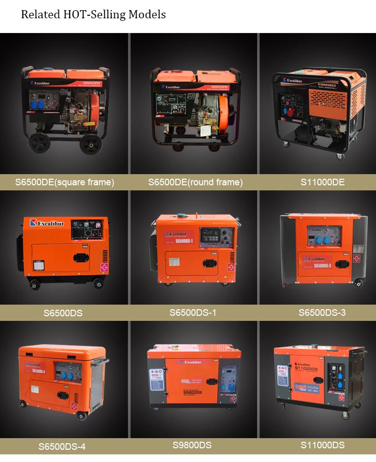 Price Of 7kw 6.5kw Diesel Generator5